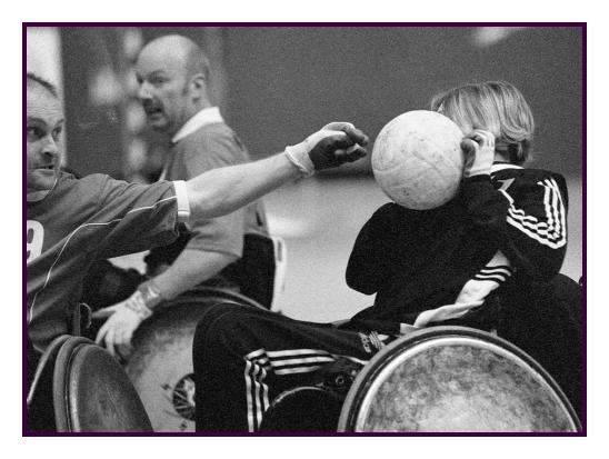 Rollstuhl-Rugby 5
