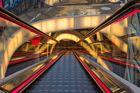 Rolltreppe in der My Zeil in Frankfurt
