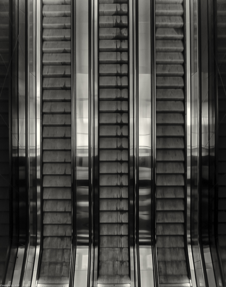 Rolltreppe in Eleganz