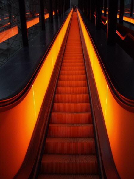 Rolltreppe in Essen