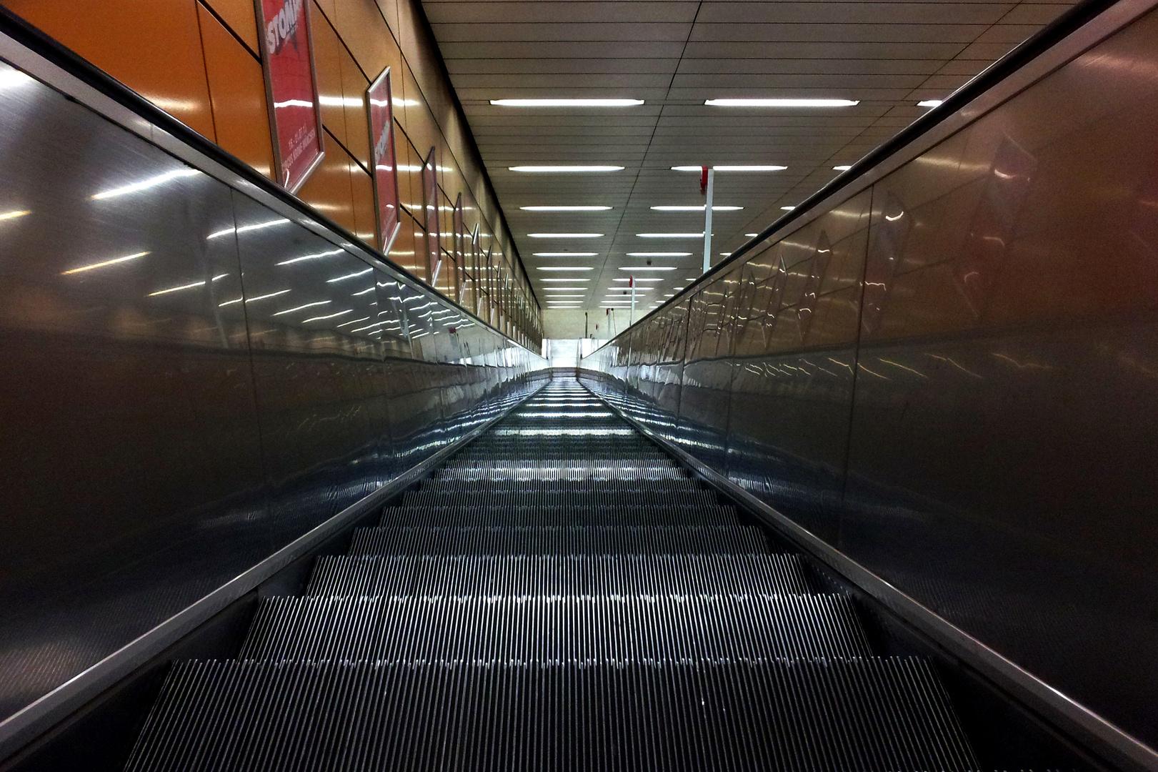 Rolltreppe - U-Bahn München