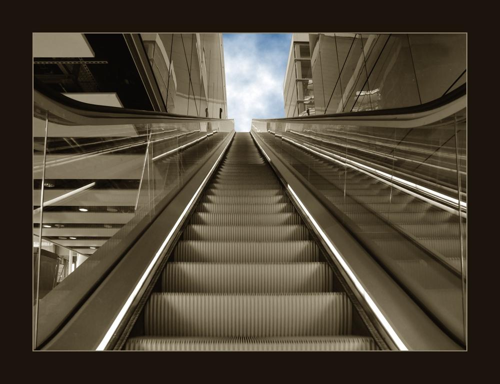 Rolltreppe zum Himmel?!