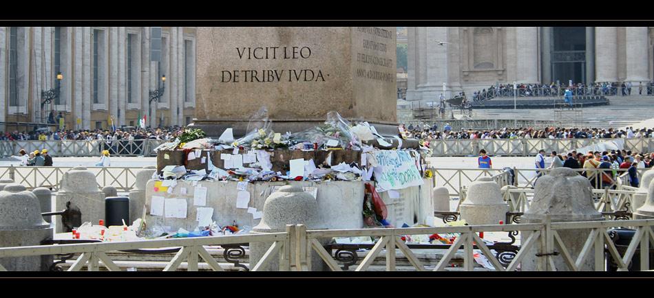 Rom #6 Erinnerungen an den zweiten Todestag von Johannes Paul II.