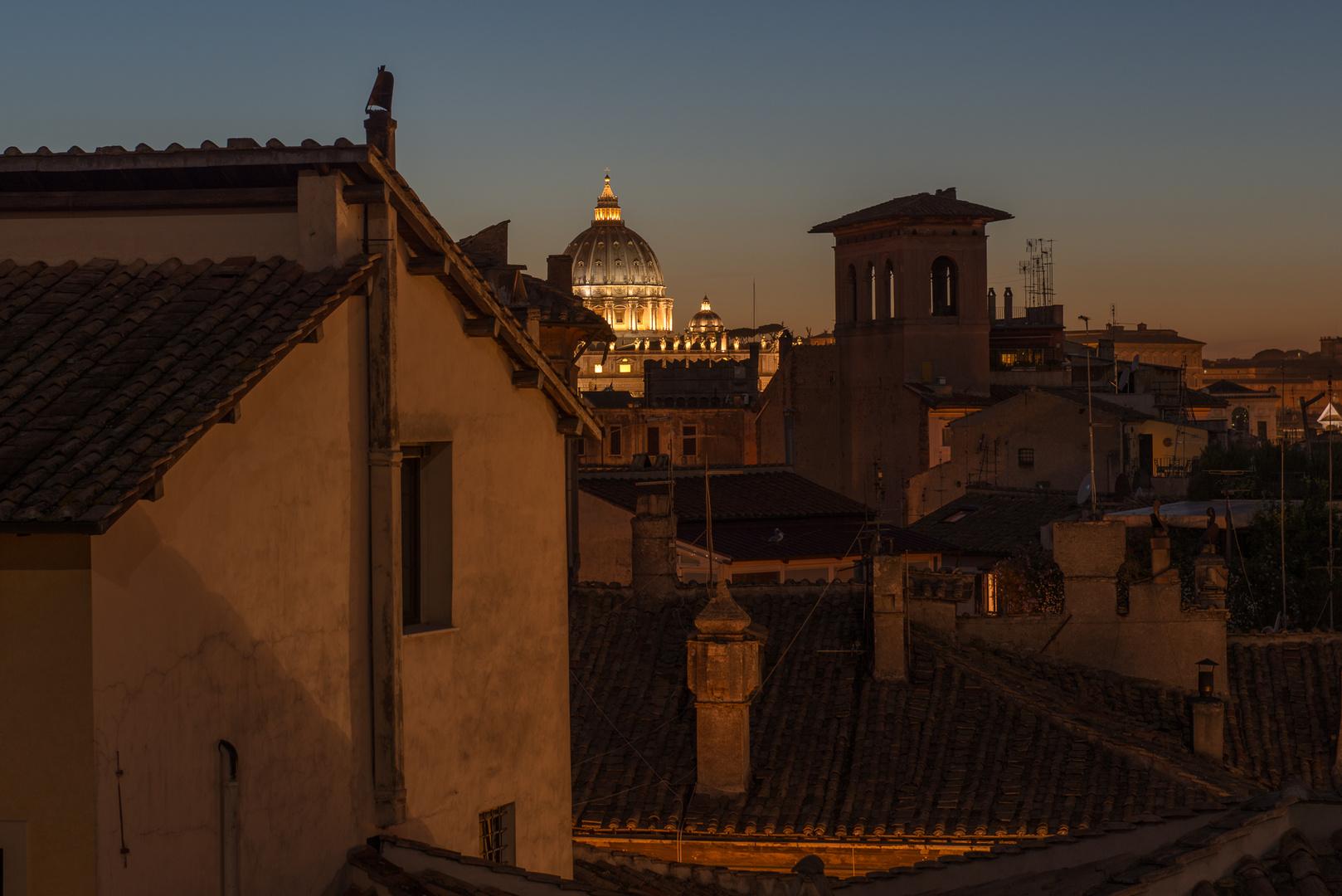 Rom, Abendstimmung