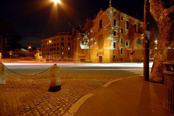 Rom am Tiberufer mit Blick auf das ehem. jüdiche Ghetto