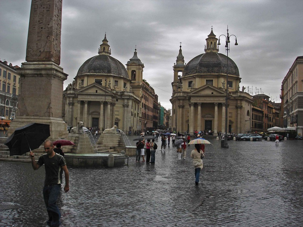 Rom bei Regen ... :-(