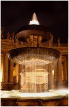 Rom - Brunnen am Petersplatz