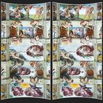 Rom: Decke der Sixtinischen Kapelle [3D]
