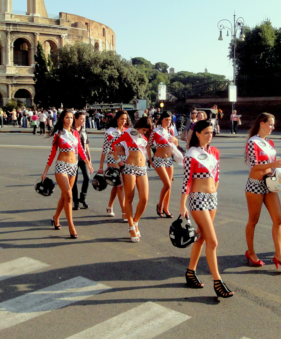 Rom, die alte junge Stadt