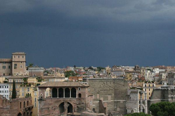 Rom - Gewitterstimmung