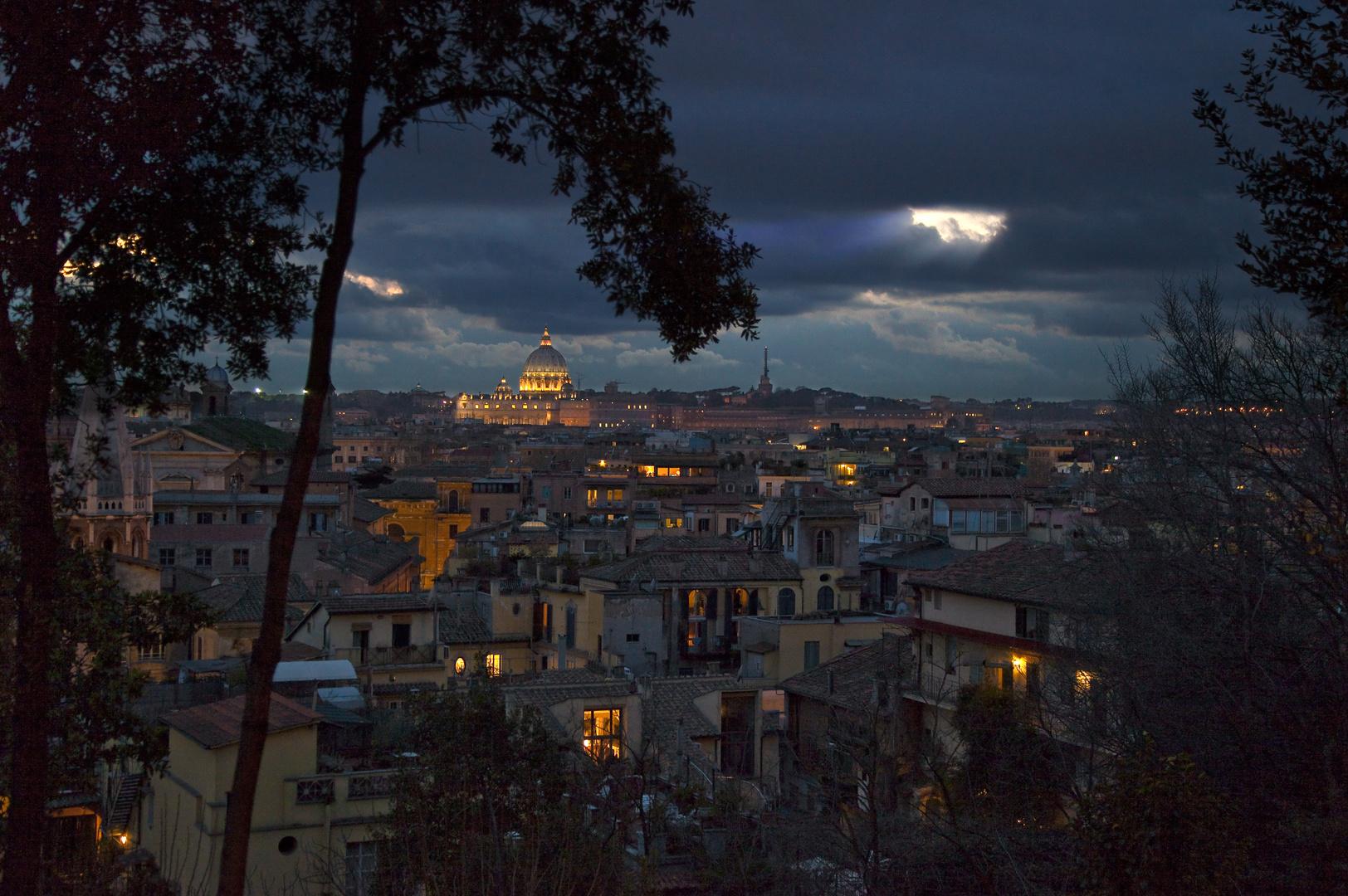 Rom in der Dämmerung