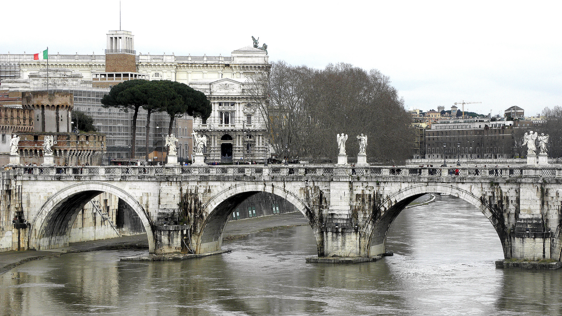 Rom ist auch im Regen wunderschön