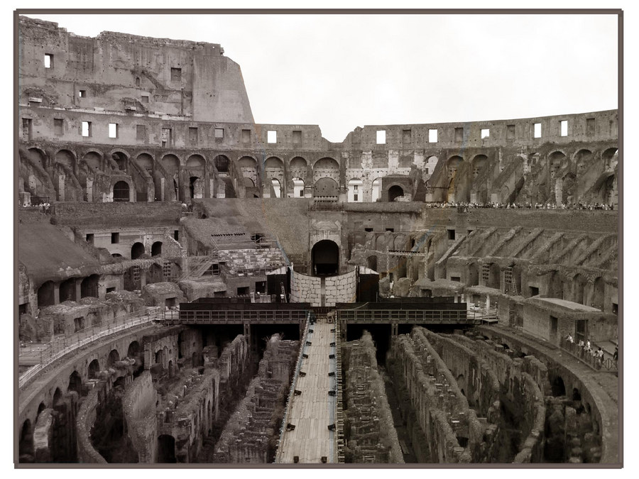 Rom-Memories - Colosseo (Colosseum)