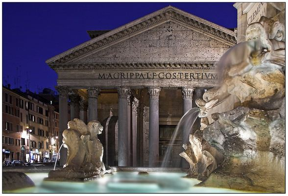 Rom - Pantheon bei Nacht ;-))