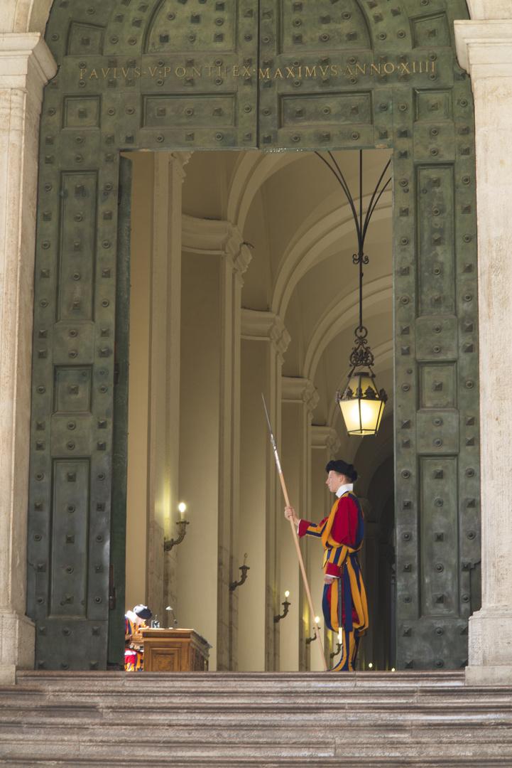 Rom Vatikan Schweizer Garde 2