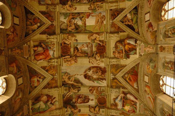 Rom - Vatikan - Sixtinische Kapelle