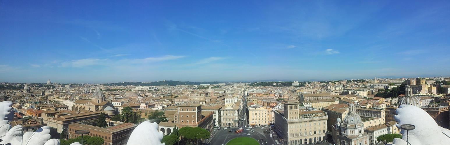Rom vom Vittorio Emanuele Monument