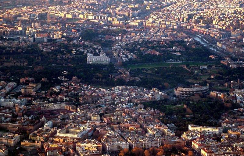 Rom von Oben