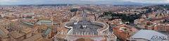 Rom von oben - Panorama