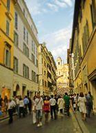 Roma A la plaza de España