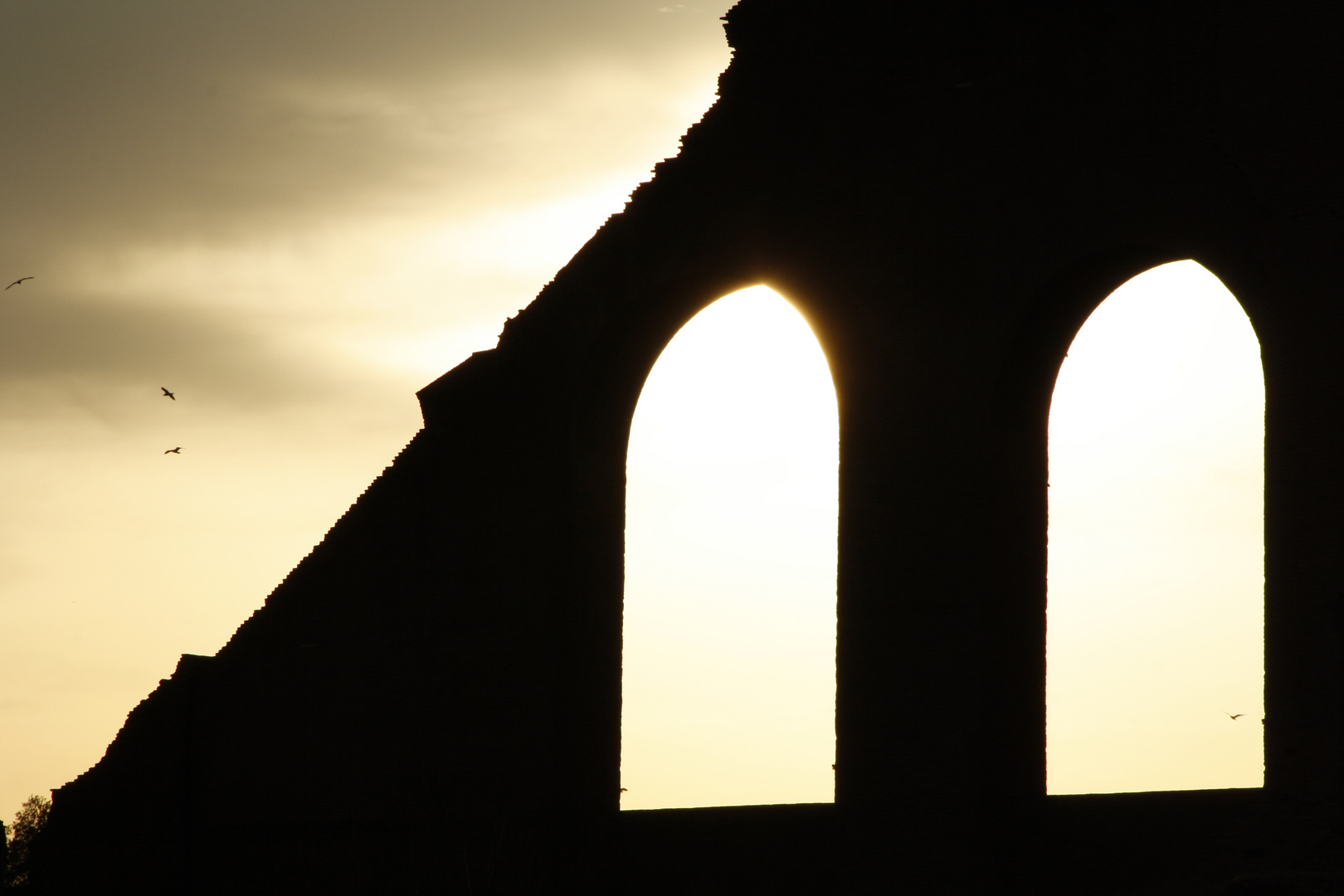 Roma antica al tramonto