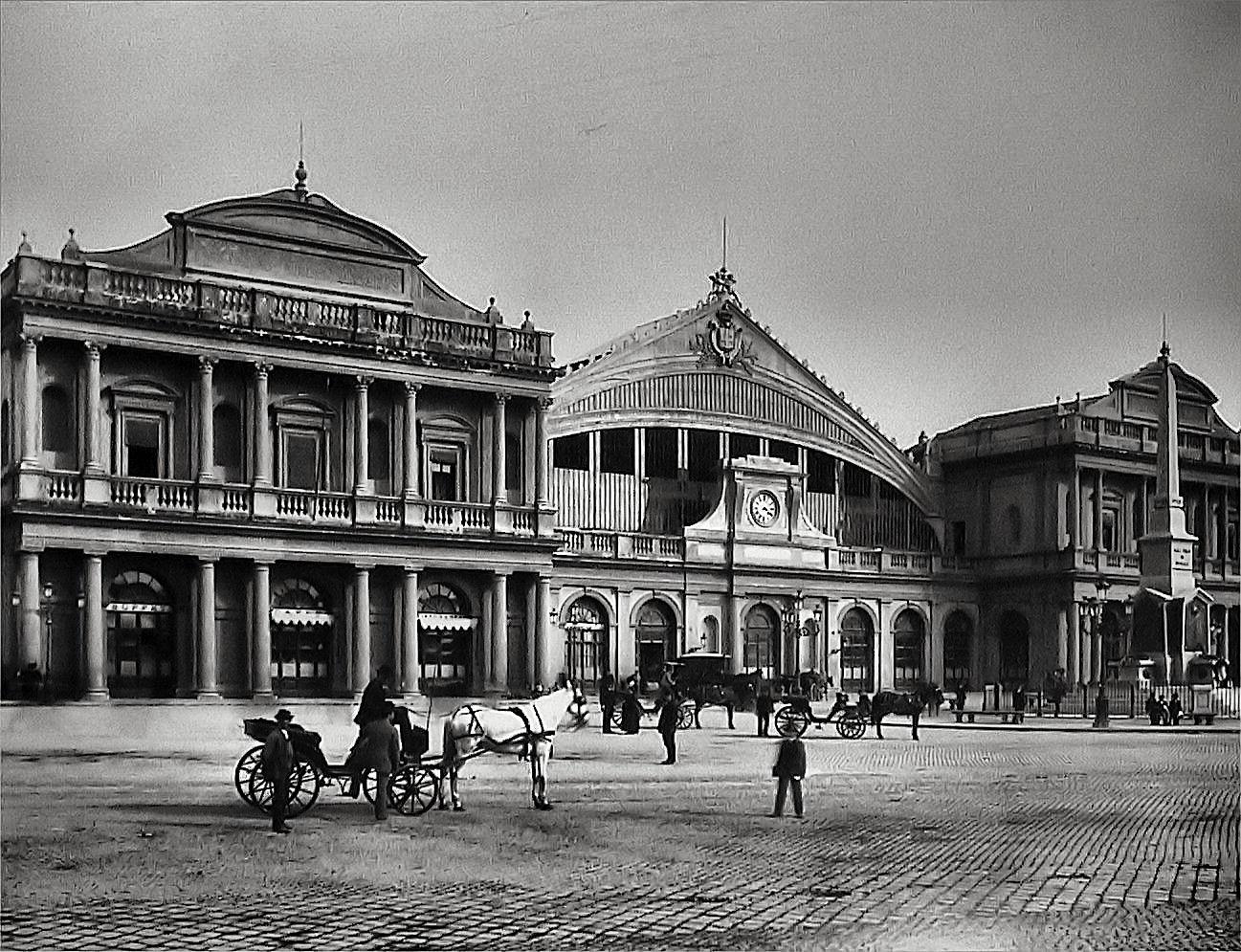 Roma la stazione termini nel 1890 foto immagini tracce for Affitto ufficio roma stazione termini