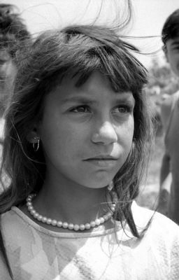 Roma-Mädchen