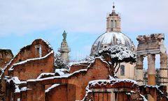 """Roma: """"Ricami di neve"""""""