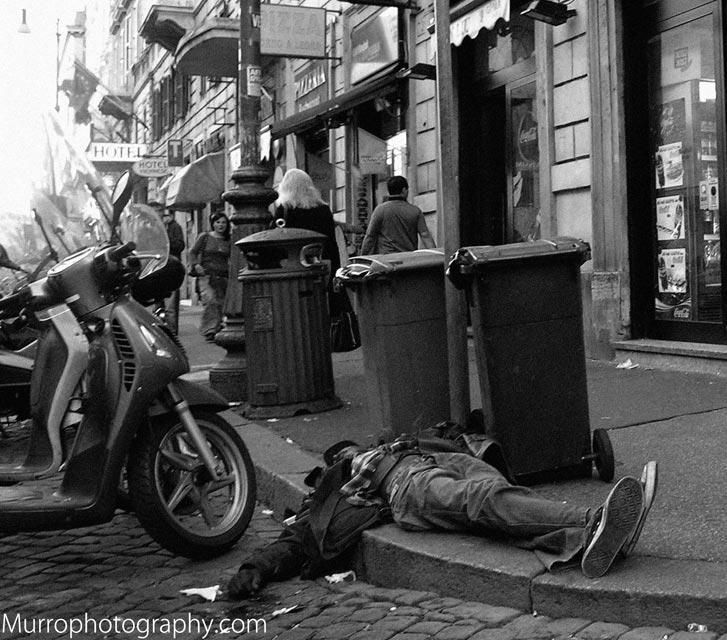 Roma Termini, Ubriaco invisibile, 2007