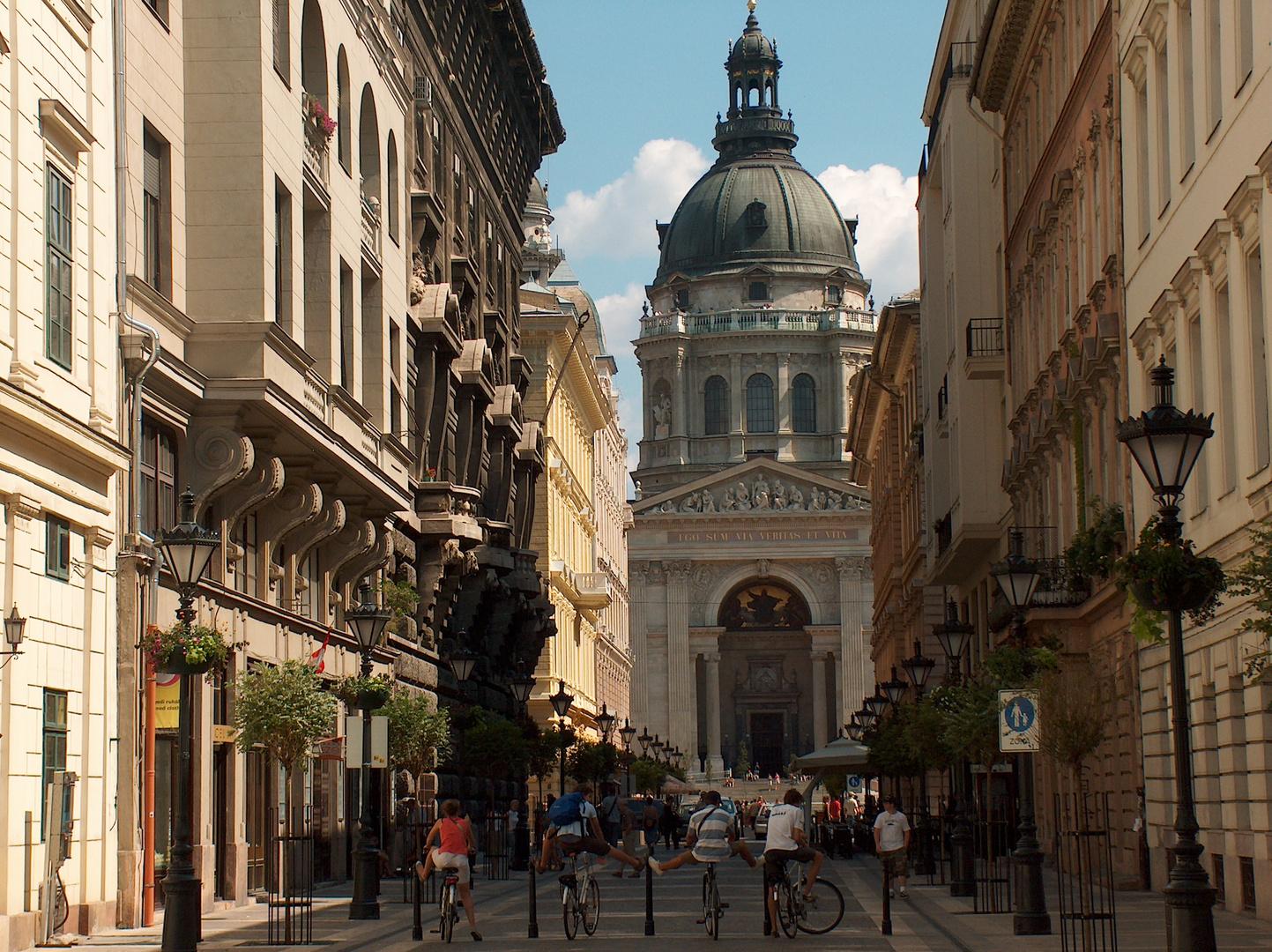 Romain SCHALCK    Basilique St-Etienne, Budapest, Hongrie