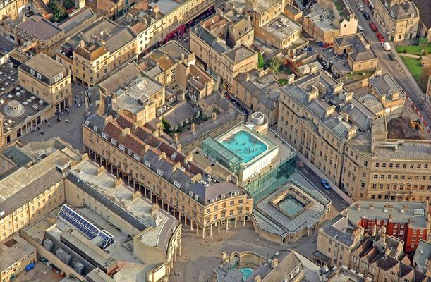 Roman Bath Spa Survey - Bath UK