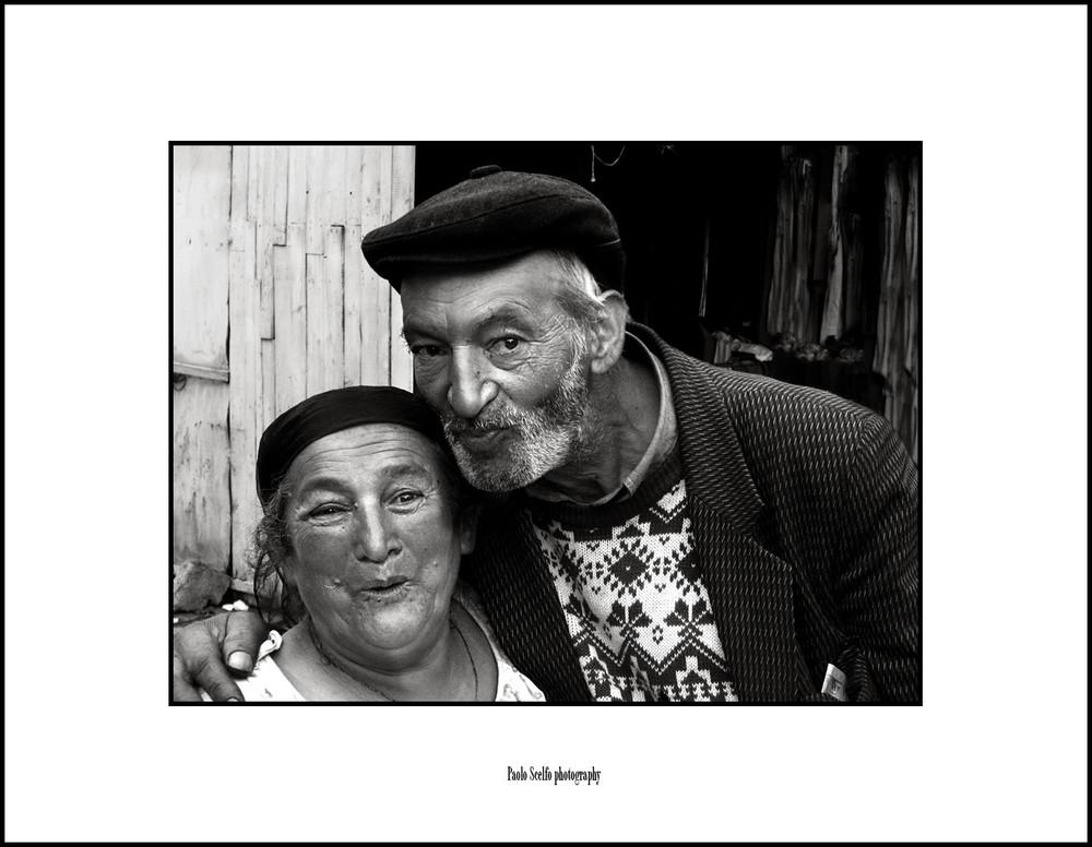 Romania: coppia di gitani