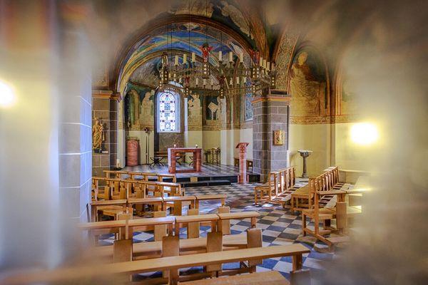 Romanische Doppelkirche Schwarzrheindorf b. Bonn