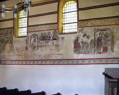 Romanische Freskenpracht an der Nahe