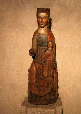 Romanische Madonna
