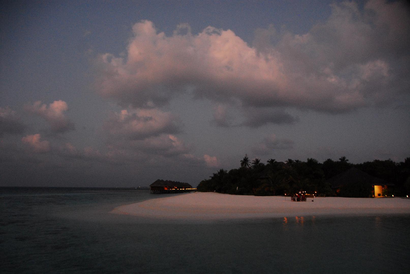 Romantic pur auf der Malediveninsel Mirihi
