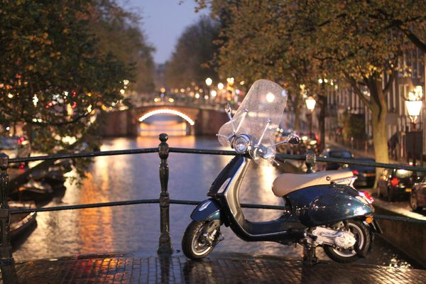 Romantic side of Amsterdam