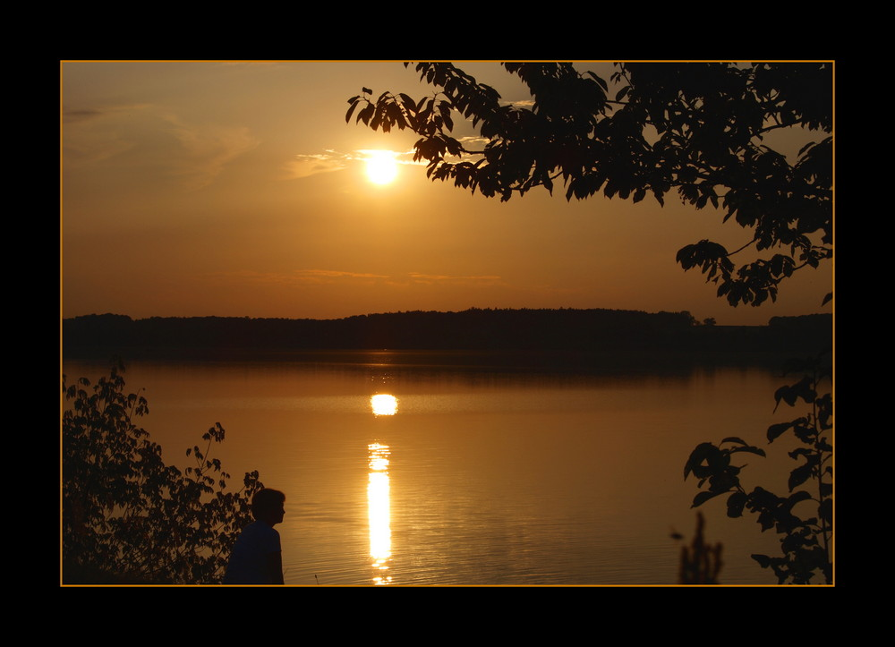 romantical sunset