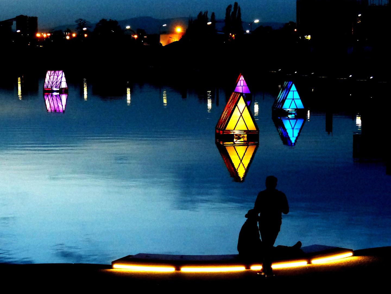 Romantik am Hafenbecken