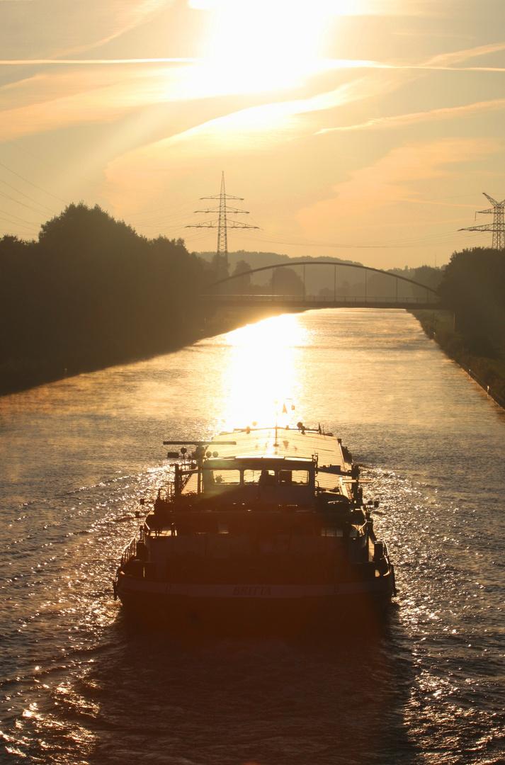 """Romantik auf dem Mittellandkanal..."""