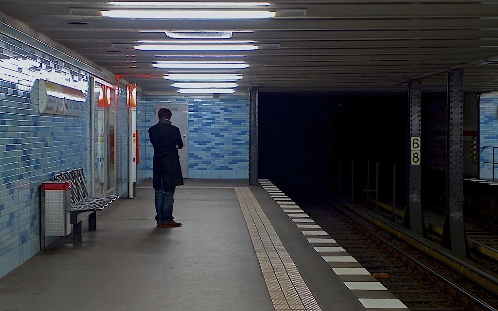 Romantik in der U-Bahn