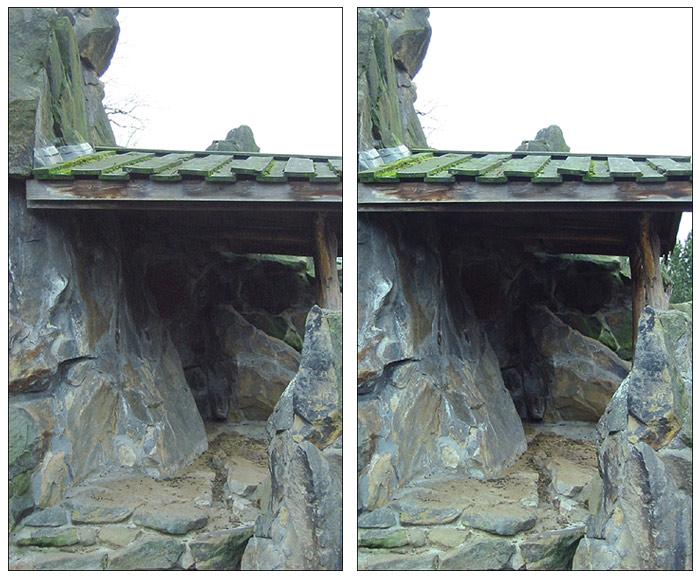 Romantische Alpenhütte