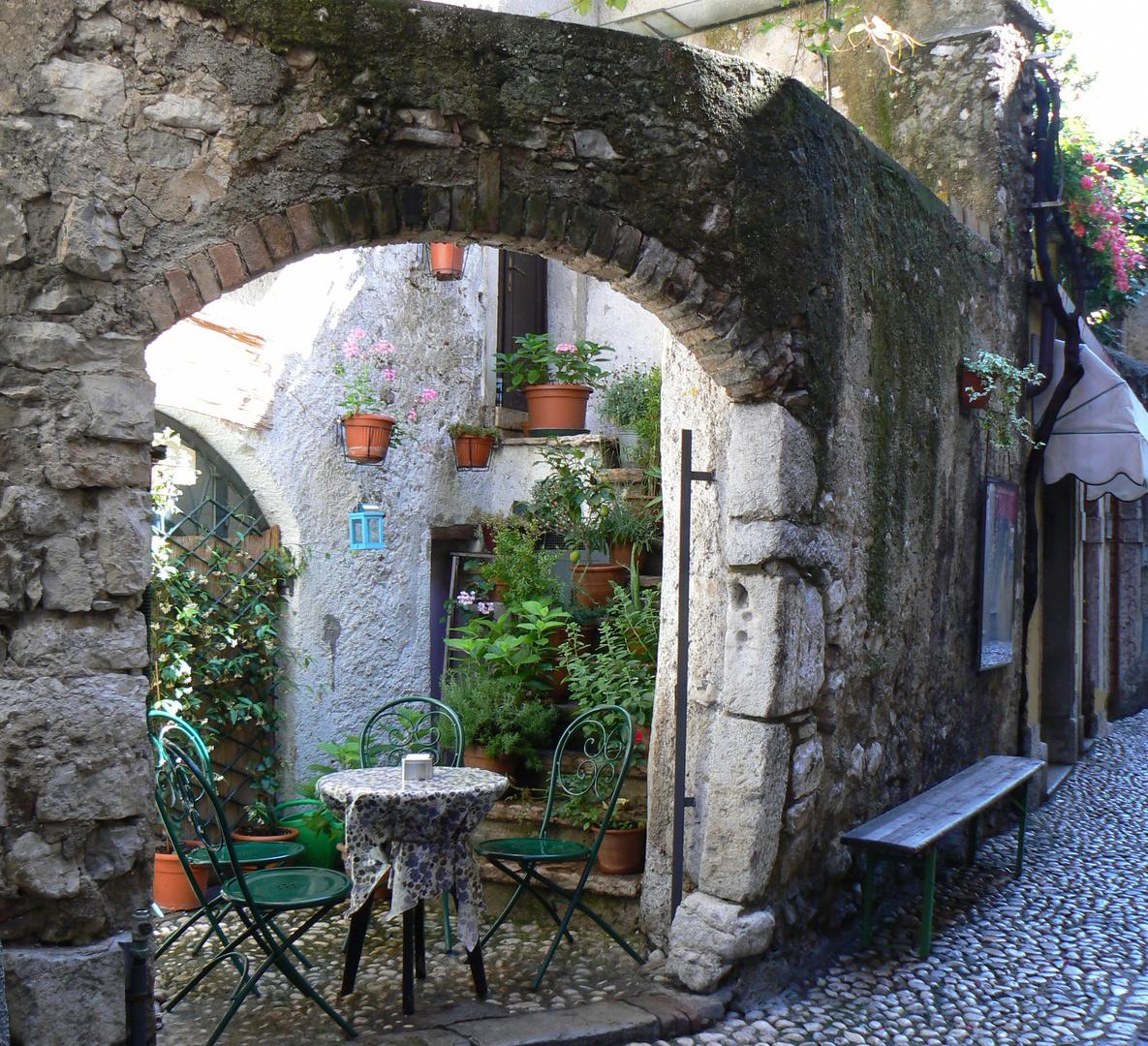 Romantische Ecke am Gardasee