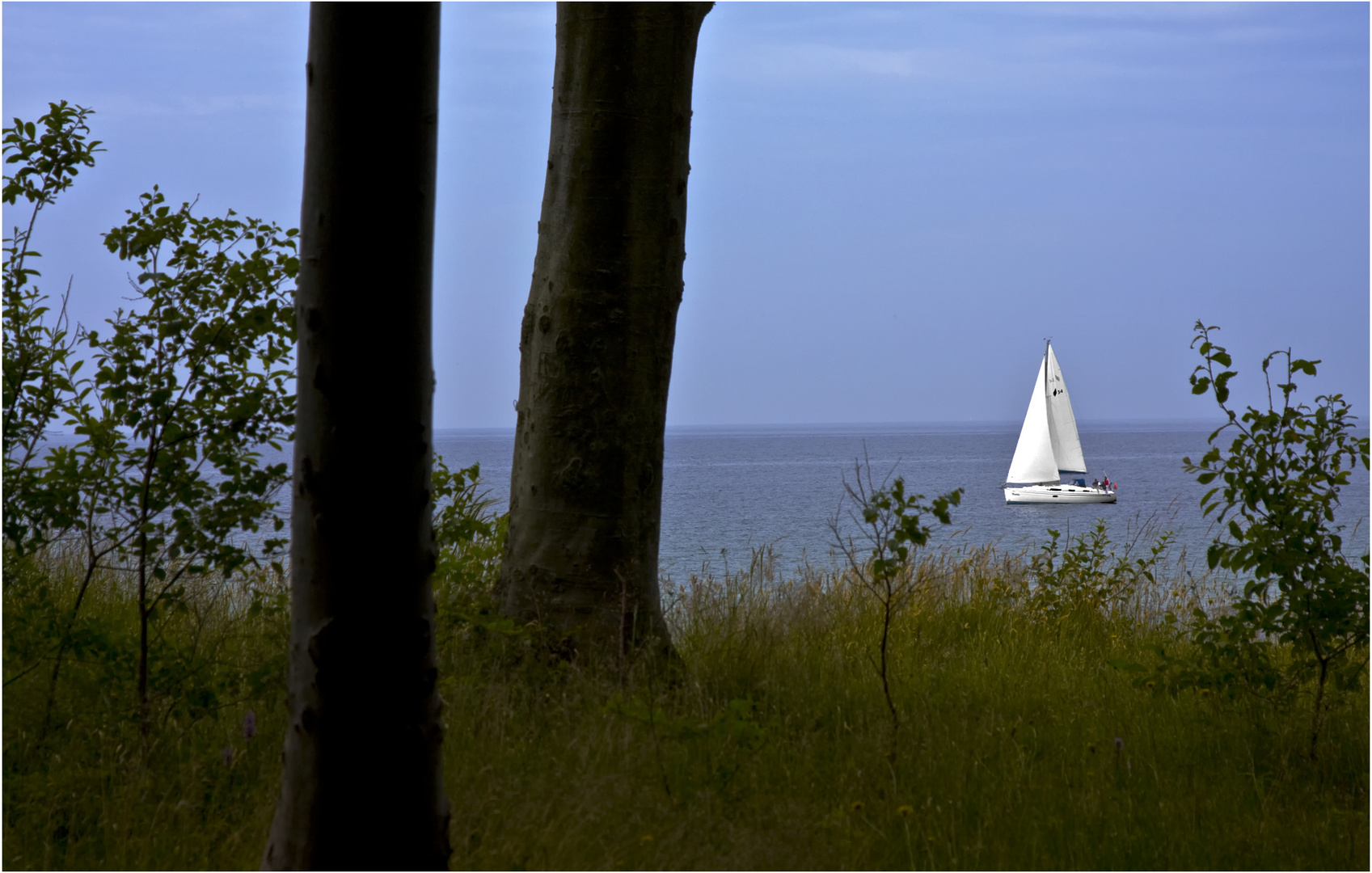 ..romantische Küste..