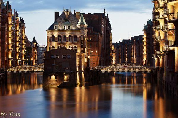 Romantische Speicherstadt