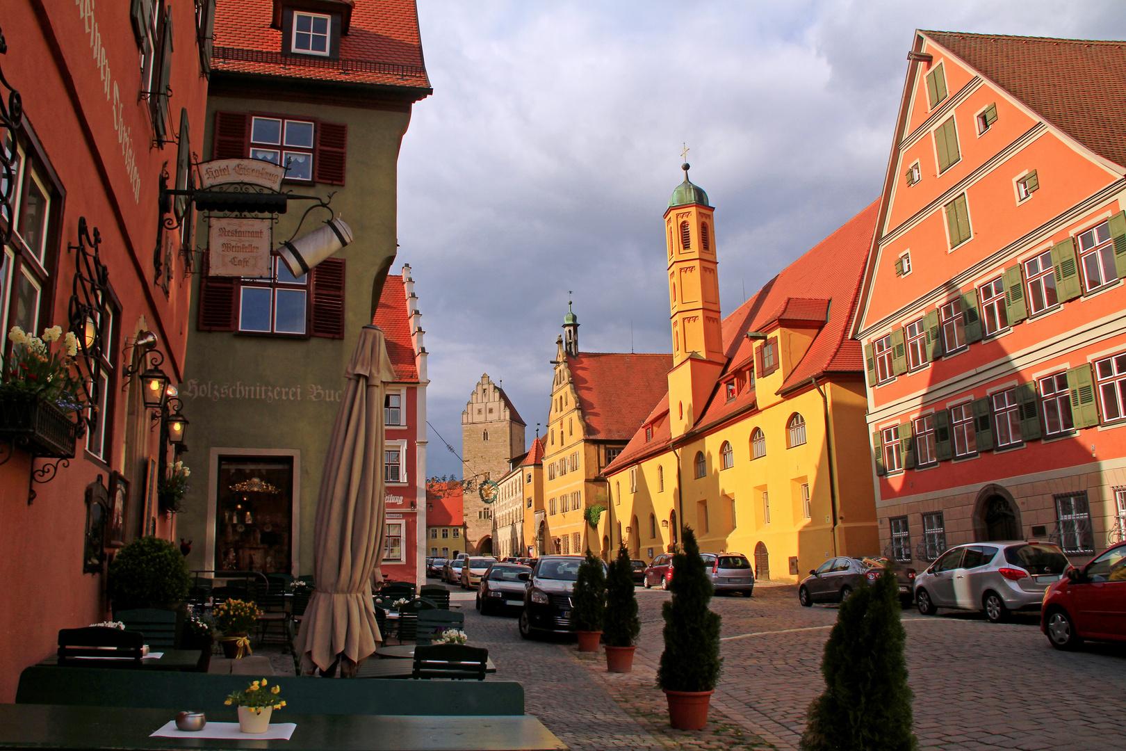 romantische Stadt Dinkelsbühl