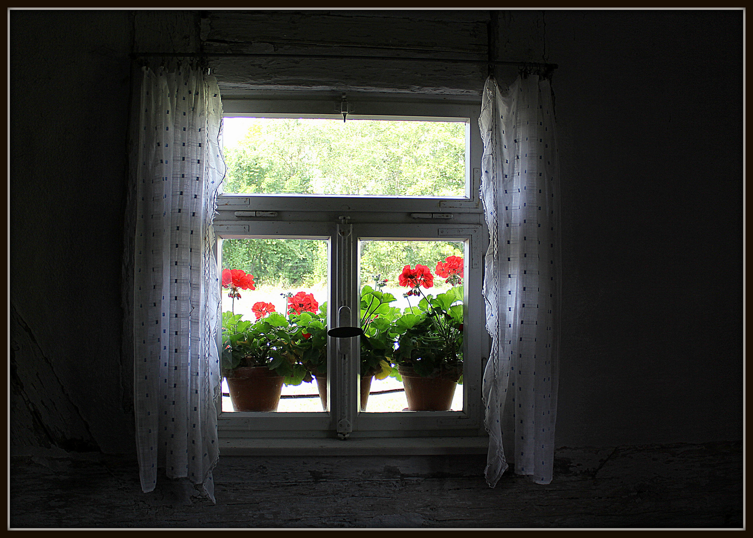 Romantisches Fenster