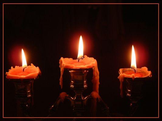 Romantisches Kerzenlicht (zu ende:))