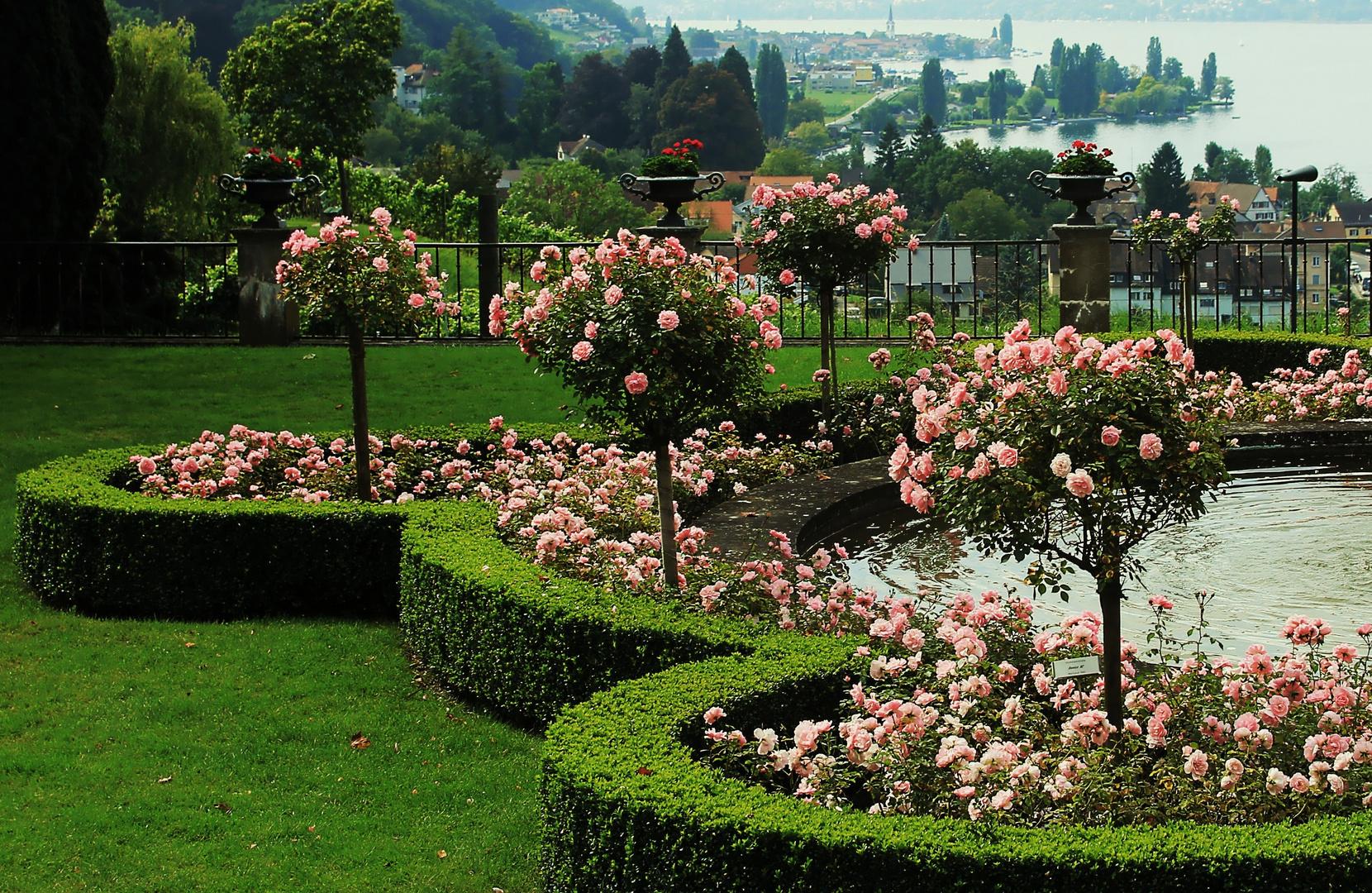 Romantisches Parkgelände