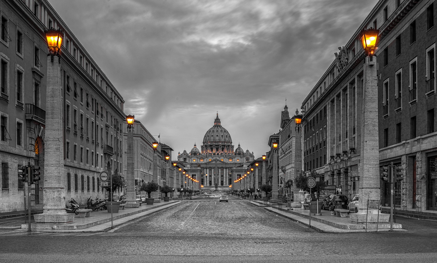 Rome - Road to Vatican